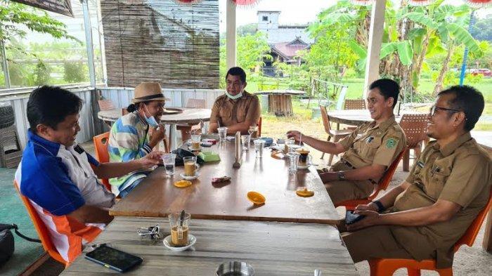 Temui Kadis Kominfo dan Pariwisata Barru, Manajemen Tribun Timur Bahas Pengembangan Wisata