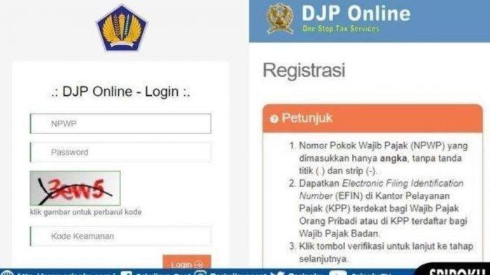 Simak Cara Mengisi Spt Online Untuk Wajib Pajak Pribadi Di Djp Online Http Djponline Pajak Go Id Tribun Timur