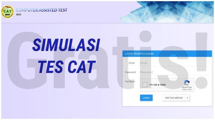 cat.bkn.go.id/simulasi - Link Simulasi Tes CAT SKD Pendaftaran CPNS 2019, Resmi dari BKN, Gratis!