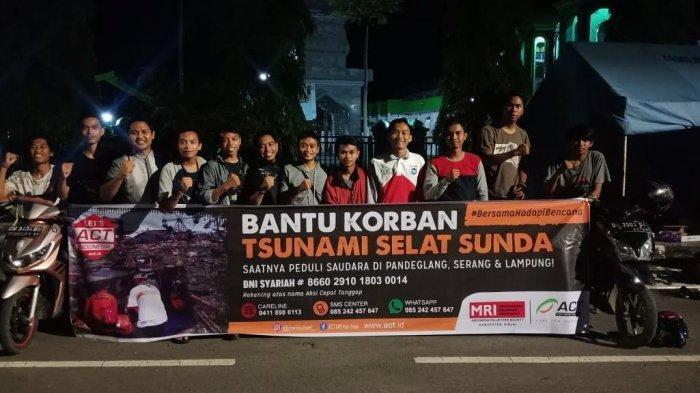 GMK IAIM Sinjai Gandeng ACT Galang Dana untuk Korban Tsunami Selat Sunda