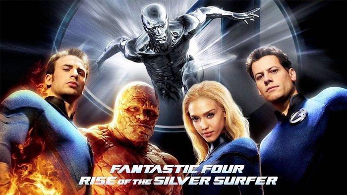 4 Pahlawan Super, Ini Sinopsis Fantastic Four Rise of the Silver Surfer, Big Movies GTV Malam Ini