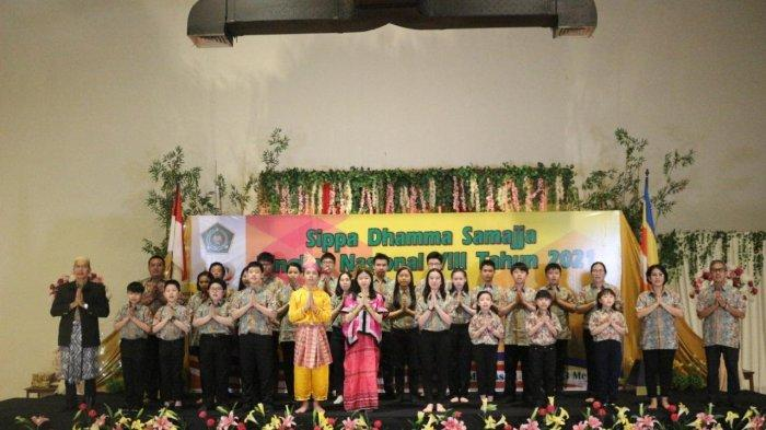 Pembimas Buddha Sulsel Gelar Sippa Dhamma Samajja Tingkat Nasional VIII