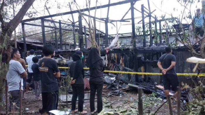 Kebakaran di Kawasan Pasar Sentral Pangkajene Pangkep
