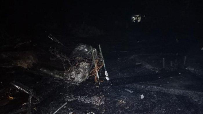 Kebakaran di Pallette Bone, Satu Rumah Rata dengan Tanah