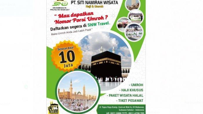 Siti Namirah Wisata Sediakan Paket Umrah, Harga Mulai Rp 23 Juta