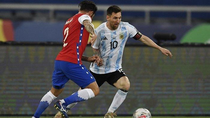 LINK Live Streaming Argentina vs Uruguay, Lionel Messi dan Luis Suarez Bertemu Sebagai Lawan