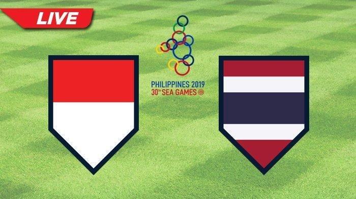 Skor 1-0, Nonton TV Online RCTI Siaran Langsung Timnas U-23 Indonesia vs Thailand SEA Games 2019