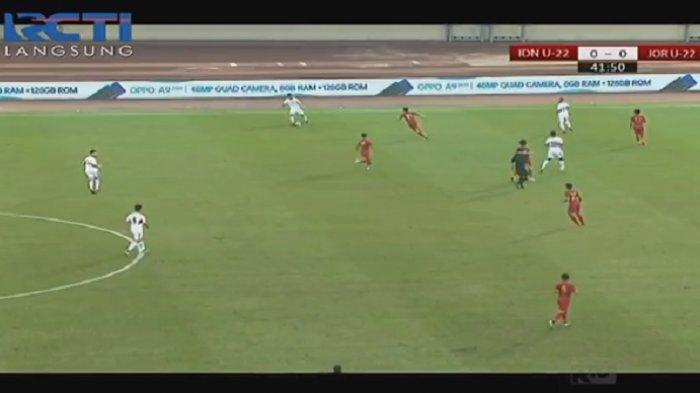Skor 0-0, Live Streaming TV Online RCTI & Metube Timnas Indonesia U-23 vs Yordania, Nonton Sekarang
