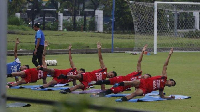 Jelang Leg Kedua Playoff Piala AFC Cup 2020, PSM Makassar Pilih Latihan di GBK