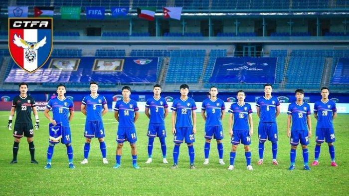 Hadapi Timnas Indonesia, Taiwan Hanya Bawa 18 Pemain, Satu di Antaranya Masih Duduk di Bangku SMA