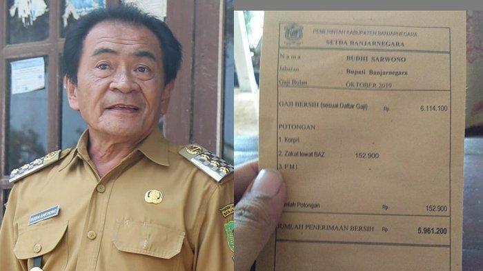 Sosok Budhi Sarwono Bupati di Jateng Tuding Covid-19 Naik Karena Permainan RS, Dokter Menanggapi
