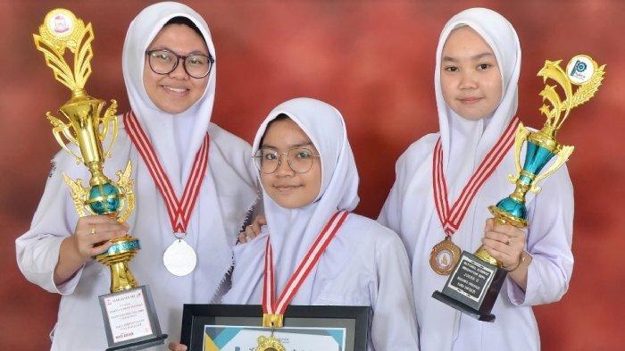 SMA Islam Athirah 1 Makassar Sabet Juara 2 Kompetisi Karya Ilmiah di Korea Selatan