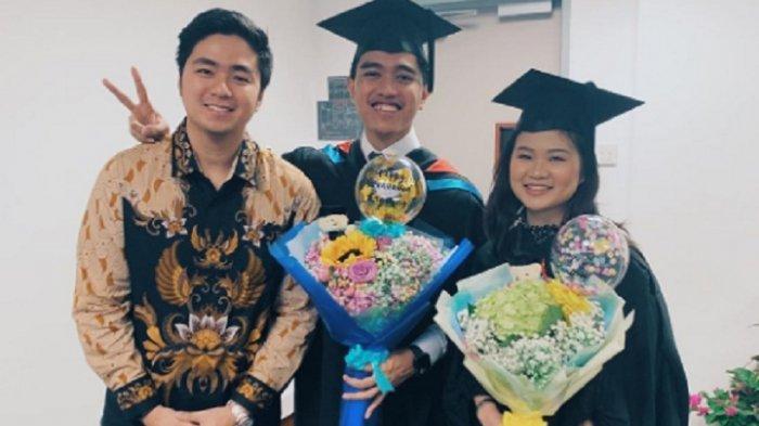 So Sweet! Kaesang Pangarep Wisuda Bareng Kekasih Felicia Tissue di Singapura: Penantian 6 Tahun
