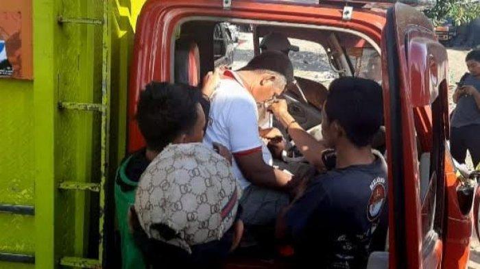Sopir Truk Pengantar Bantuan Beras di Jeneponto Meninggal Mendadak