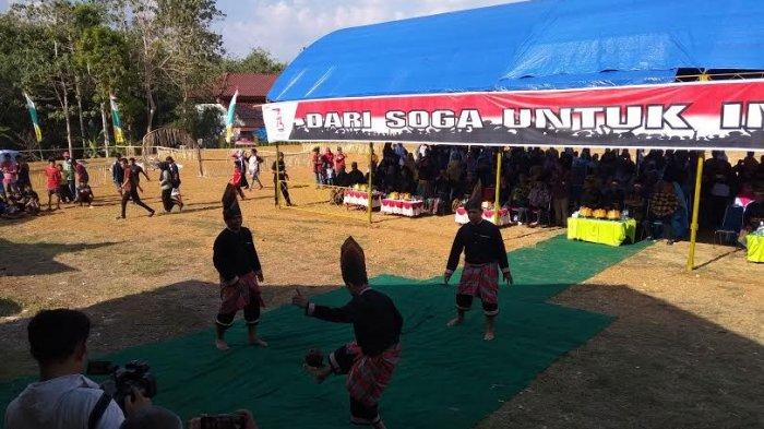 Video Warga Soppeng Lestarikan Permainan Tradisional Maddaga Tribun Timur