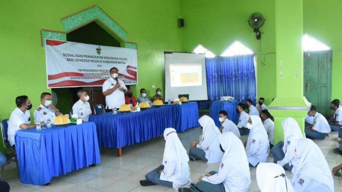 Pemilu 2024, LPPM Unhas Edukasi Pemilih Pemula di Maros