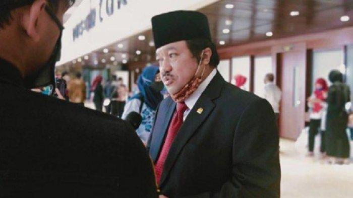 Sosok Idris Laena politisi berpengaruh turunan Bugis, akad nikah anaknya dihadiri Presiden Jokowi dan Menko Perekonomian Airlangga Hartarto