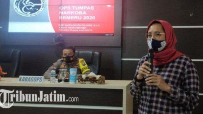Sosok <a href='https://jambi.tribunnews.com/tag/kompol-anria-rosa-piliang' title='KompolAnriaRosaPiliang'>KompolAnriaRosaPiliang</a>, Perwira Polwan Malang Gerebek Kolonel TNI AD di Hotel dan Nasibnya