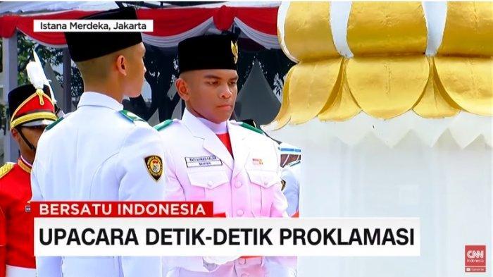 Sosok Rafi Ahmad, Komandan Kelompok 8 Tim Merah Pengibar Bendera Merah Putih di Istana Merdeka