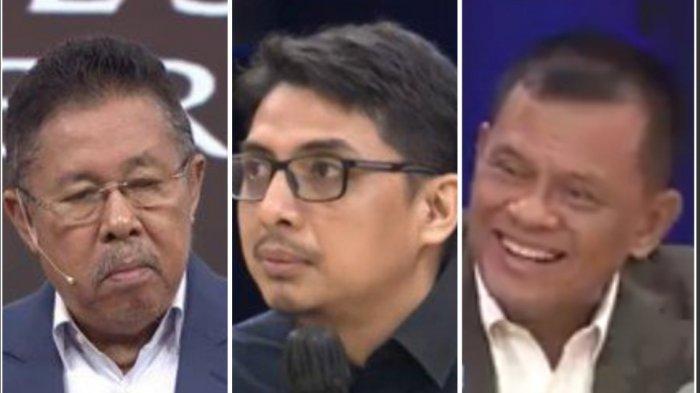 Sosok Zainal Arifin Berani Sindir Karni Ilyas ILC TV One Tadi Malam, Gatot Nurmantyo Ikut Tertawa