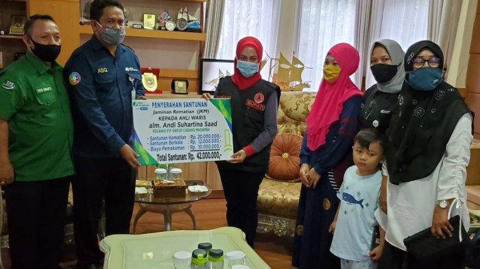 BPJamsostek Sulawesi Maluku Kembali Kirim Bantuan ke Masamba, Kali Ini Totalnya Rp 67 Juta