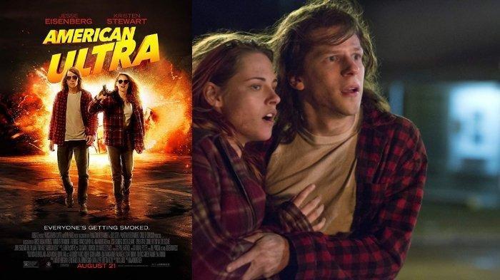 Spesial Valentine Dibintangi Kristen Stewart, Ini Sinopsis American Ultra Bioskop Trans TV Malam Ini