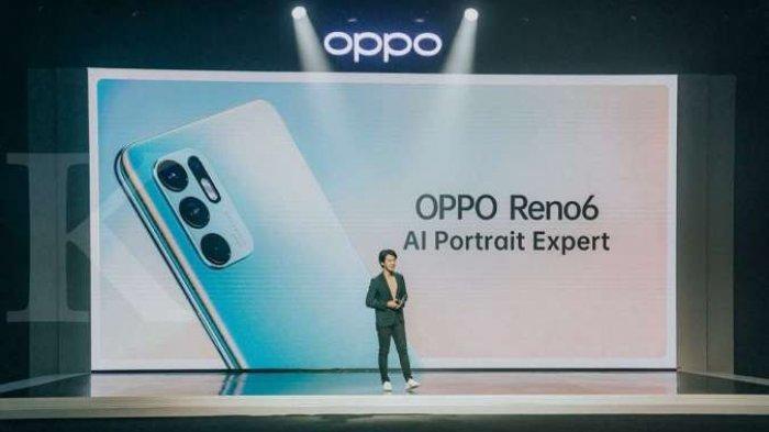 RAM 8GB, Harga HP Oppo Reno6 Rp 5 Jutaan, Intip Spesifikasi Ponsel Berkapasitas Baterai 4.300 mAh