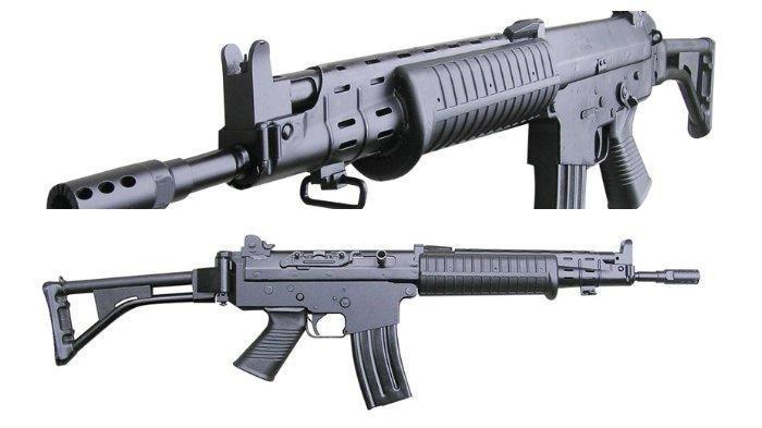 Spesifikasi Senjata Api Jenis SS1 V2 yang Dirampas Massa Saat Aksi Kontak Senjata di Deiyai Papua