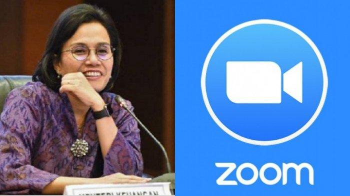 Menteri Keuangan Sri Mulyani Kejar Pajak Aplikasi Zoom, Sering Digunakan Saat Work From Home
