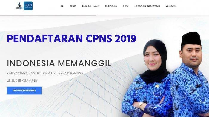 Sebab Web Pendaftaran CPNS https:// sscasn.bkn.go.id - sscn.bkn.go.id Error dan Passing Grade Turun