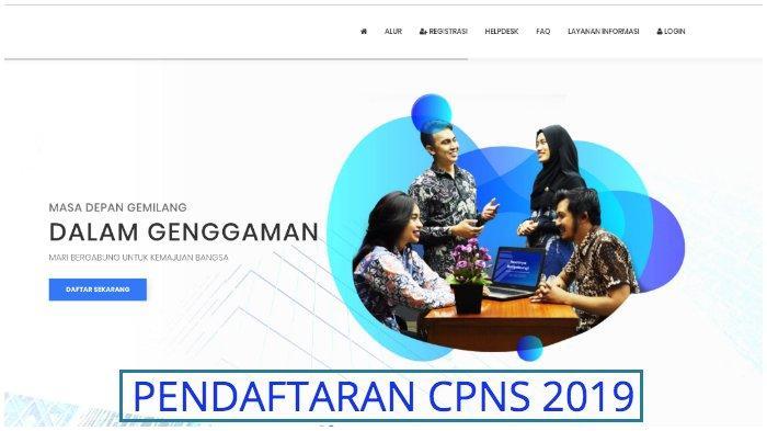 Pendaftaran CPNS 2019 Kabupaten Kepulauan Selayar, Cek Formasinya di Sini