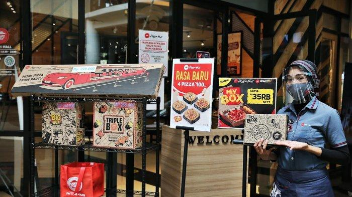 FOTO: My Box Menu Baru Pizza Hut Nipah Mal dengan 45 Kombinasi Menu