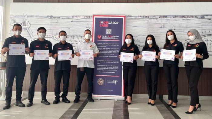 Karyawan Amaris Pettarani Sudah Vaksin Corona Tahap 2