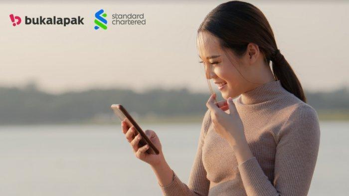 Standar Chartered dan Bukalapak Luncurkan Layanan Perbankan Digital