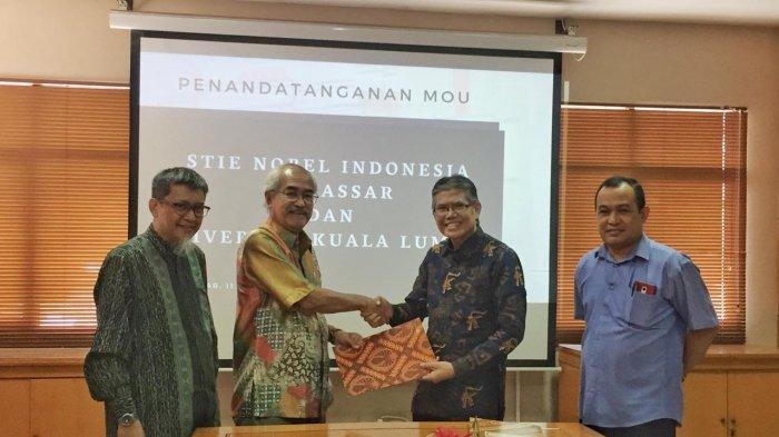 STIE Nobel Indonesia Makassar Sambut Abad Baru dengan Kerjasama Internasional