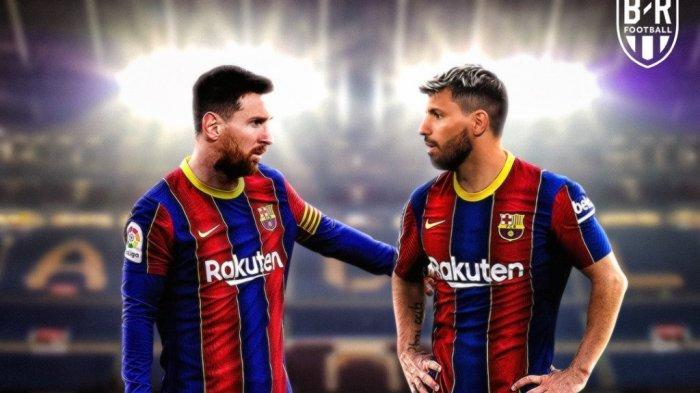 Deal Kontrak 2 Tahun di Barcelona? Sergio Aguero Bakal Tandem Lionel Messi, Siapa yang Akan Tergusur