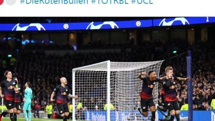 Hasil Liga Champions, RB Leipzig Permalukan Tottenham Hotspur, Nagelsmann Pecahkan Rekor