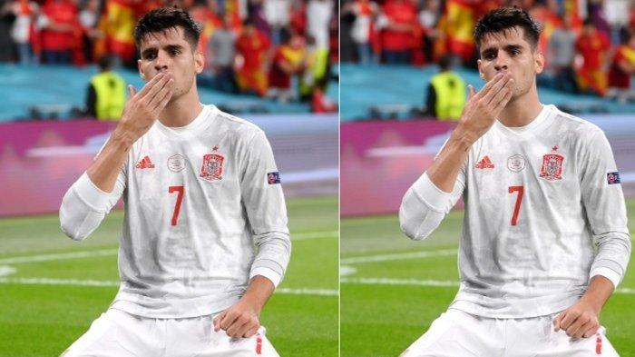 Curhat Alvaro Morata Setelah Spanyol Dikalahkan Italia