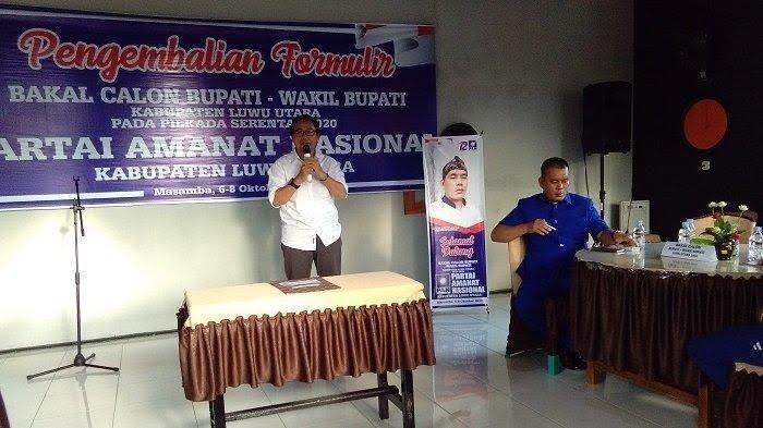 Daftar Balon Wakil Bupati Luwu Utara di Golkar dan PAN, Kadis PUPR Diperiksa Bawaslu