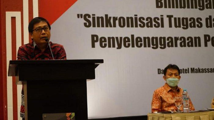 Ikuti Bimtek di Makassar, Wabup Luwu Utara Minta BPD dan Kepala Desa Bersinergi Layani Masyarakat
