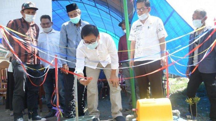 Program Pamsimas, 63 KK di Salekkoe Luwu Utara Kini Nikmati Air Bersih
