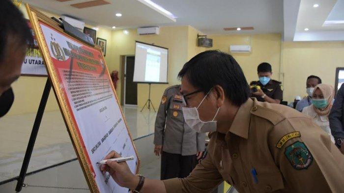 Suaib Mansur Puji Deklarasi Zona Integritas Wilayah Bebas Korupsi Polres Luwu Utara