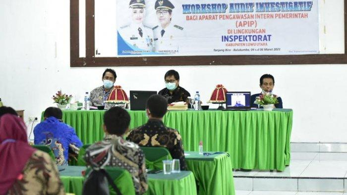 Inspekrorat Luwu Utara Gelar Workshop Audit Investigatif di Bulukumba