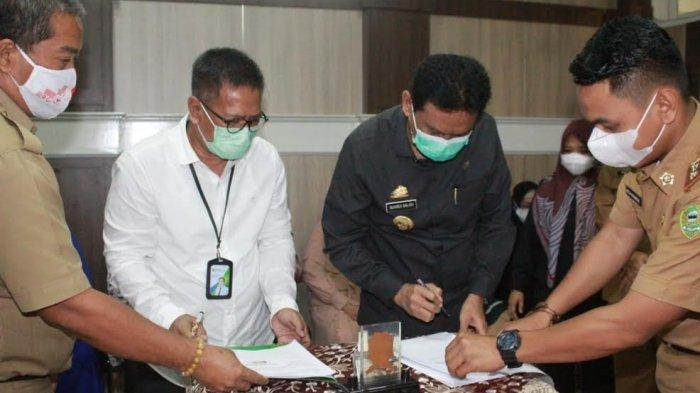 Bantu Tenaga Honorer, Pemkab Barru Perpanjang Kerjasama dengan BPJS Ketenagakerjaan.