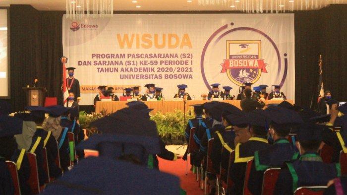 Universitas Bosowa Makassar Wisuda 351 Lulusan