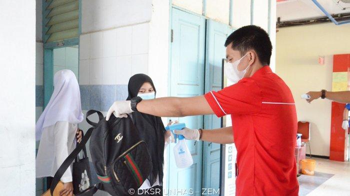UTBK Unhas Hari Ketiga, Panitia Perketat Protokol Kesehatan