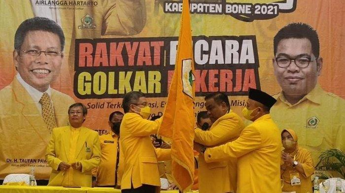 Terpilih Kembali Pimpin Golkar Bone, Fahsar: Saya Tidak Butuh Orang Pintar