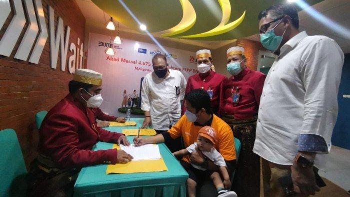 BNI Wilayah Makassar Gelar Akad Kredit Massal 500 Debitur KPR Sejahtera FLPP