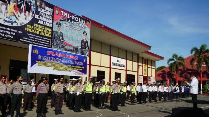 200 Personel Gabungan Jaga Batas Gowa, Nekat Mudik Bakal Dikarantina 14 Hari