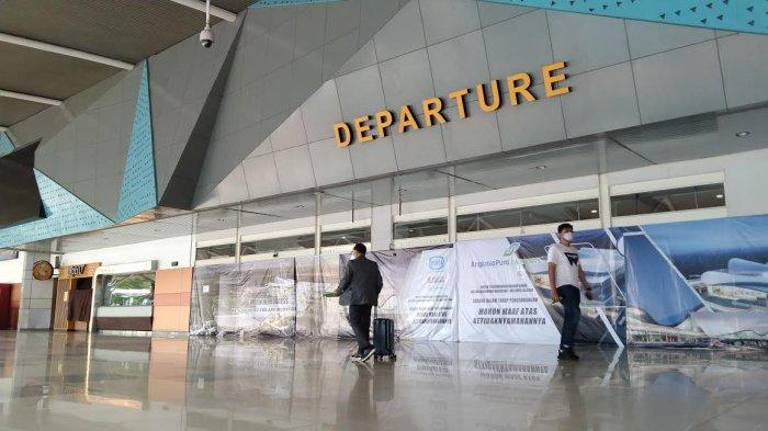 Jumlah Penumpang Bandara Sultan Hasanuddin Hari Ketiga Larangan Mudik hanya 497 orang